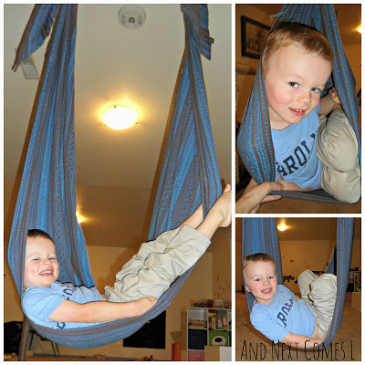 Homemade Cuddle Swing A Sensory Life