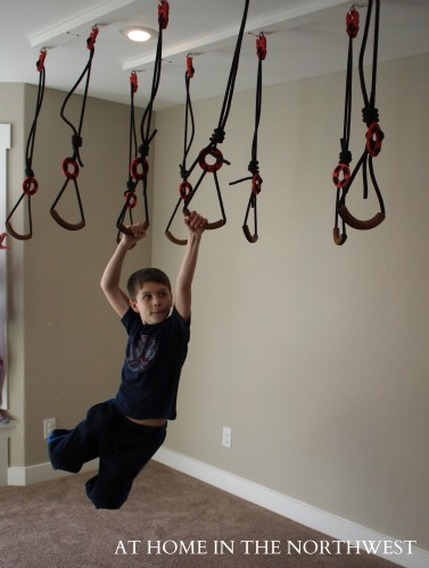 Guidelines For Hanging A Swing Or Other Suspended Equipment In The Home